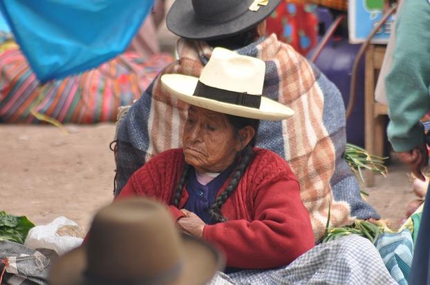 Marktszene in Cusco