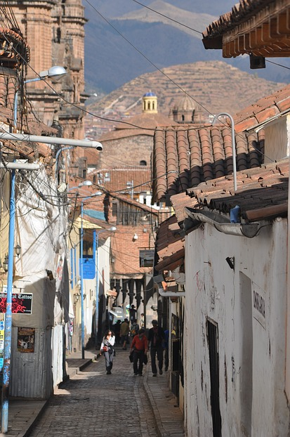 Straße in Cusco