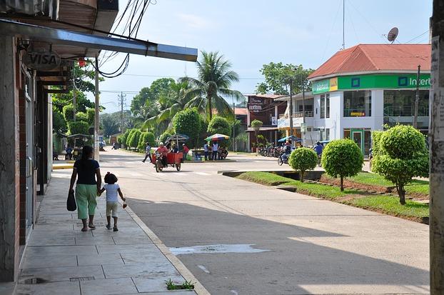 Straßenszene in Puerto Maldonado