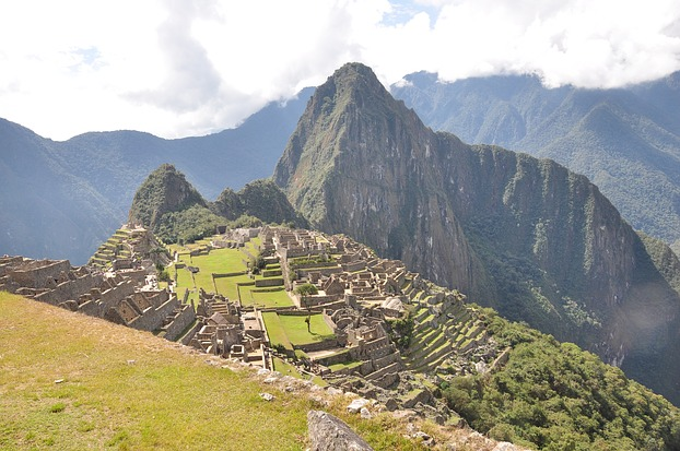 Blick über Machu Picchu