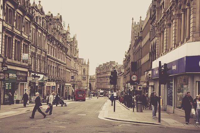 Die Stadt Newcastle