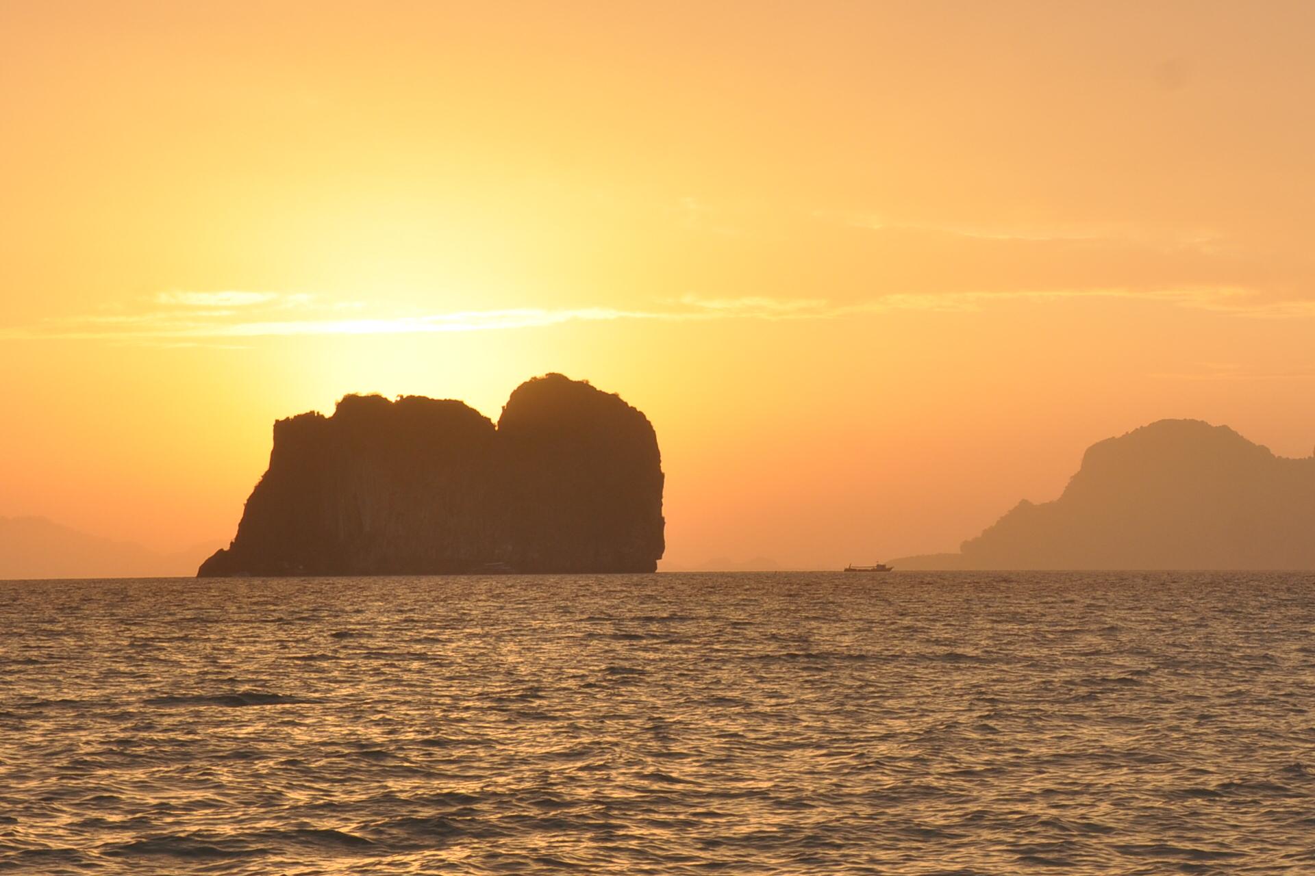 Die kleine Insel Ko Ngai ist geradezu paradiesisch, Bild: MaSan (Martin Seibel)