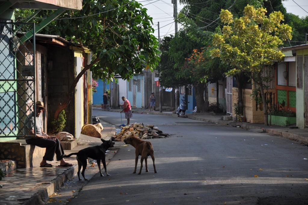 Managua - in den frühen Morgenstunden ist noch nicht viel los. Bild: Ma San (Martin Seibel)