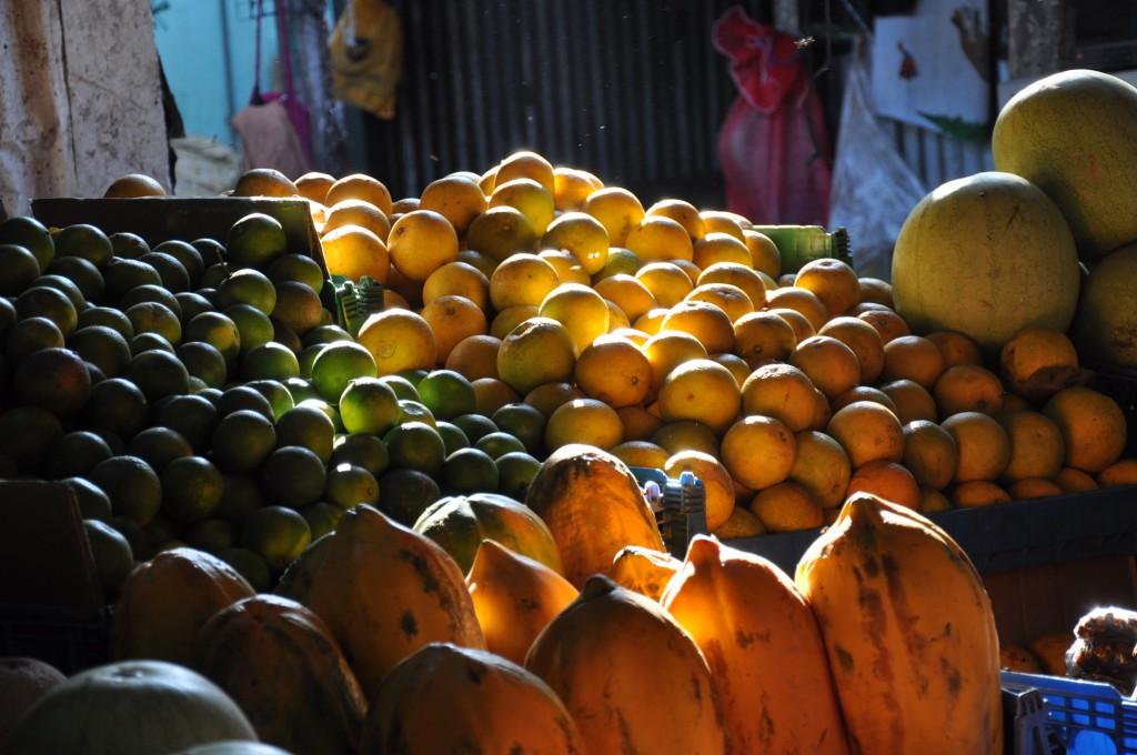 Märkte wie der Huembes Markt sind immer ein kleines Highlight. Bild: Ma San (Martin Seibel)