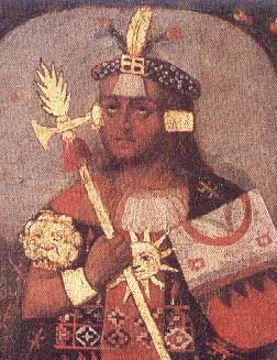 Portrai von pachacutec