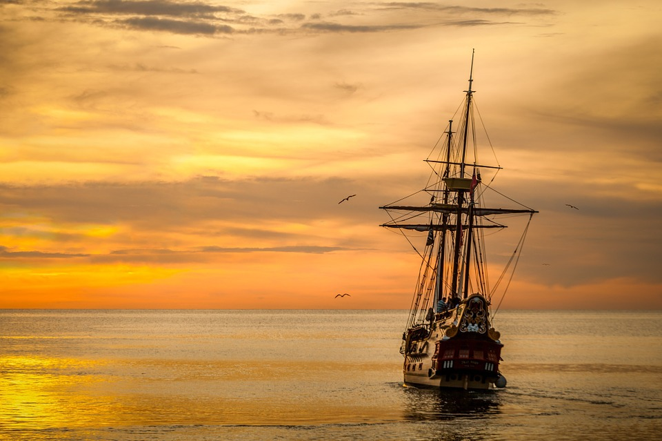 Altes Segelschiff, Francisco Pizarro