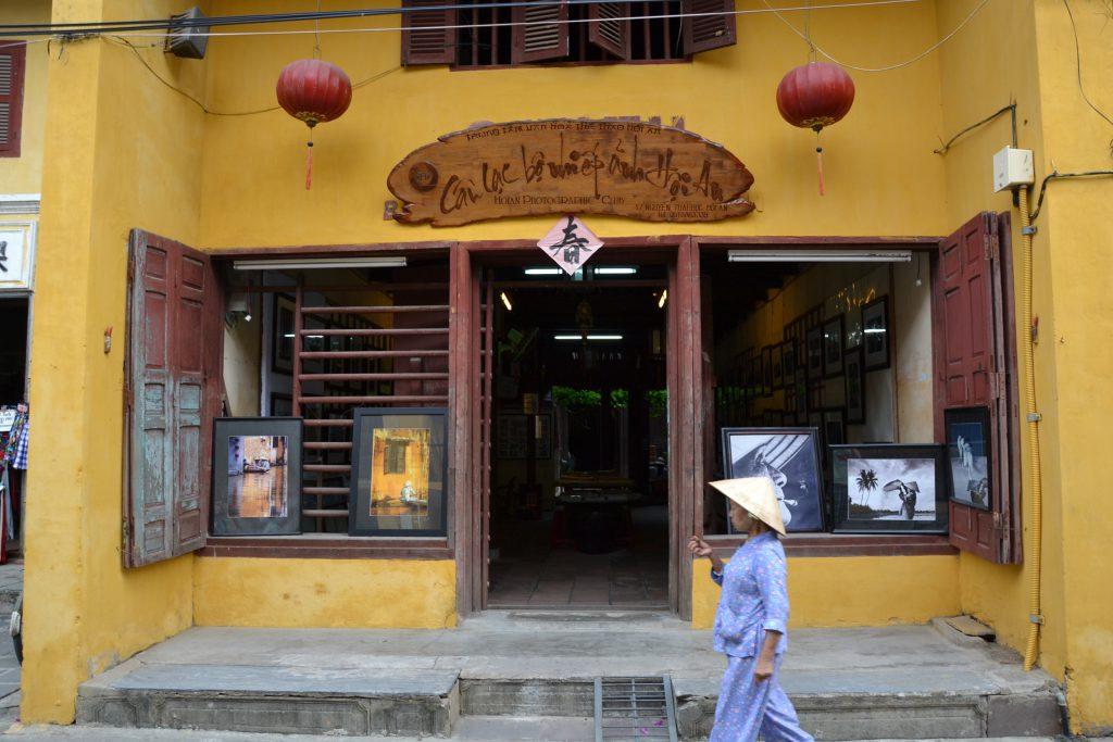 Hausfassade in Hoi An, Vietnam