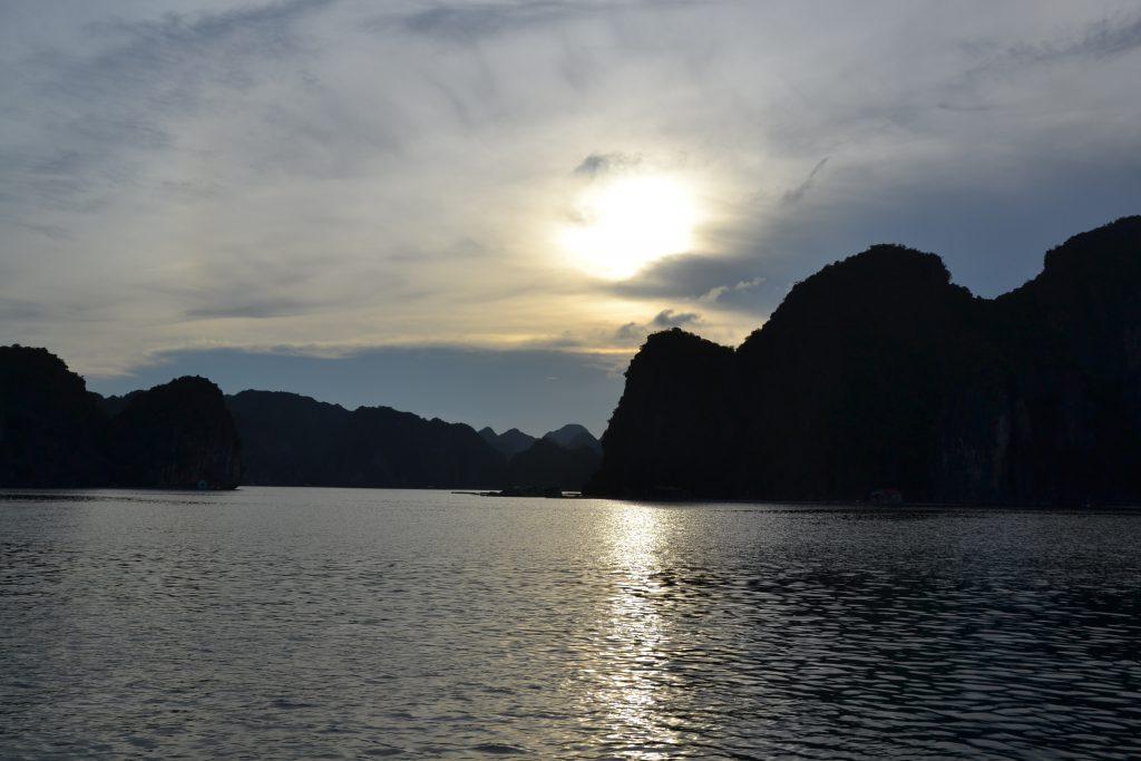 Bild aus der Halongbucht in Vietnam