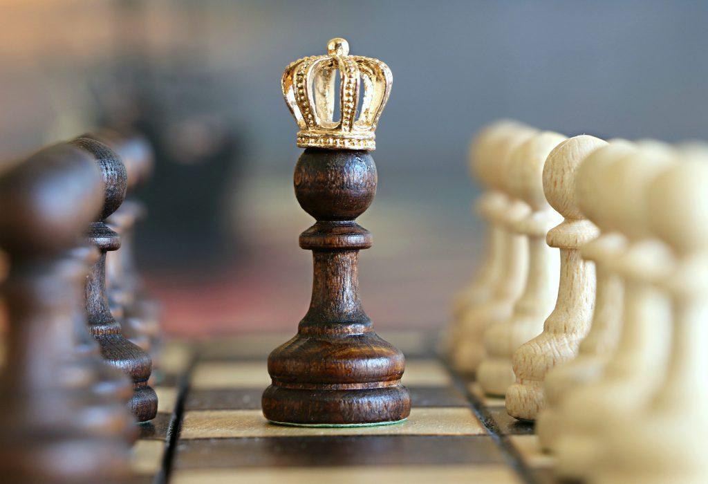 Bild von Schachbtrett für ARtikel über Gary Vaynerchuks Buch 'Hau Rein'