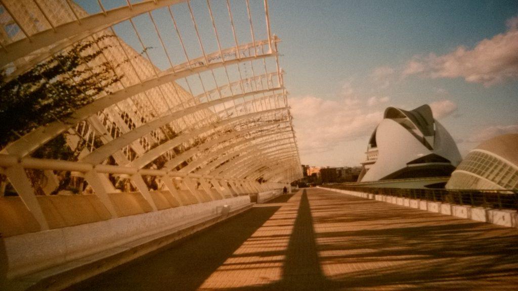 Valencia, Stadt der Wissenschaften, fotografiert im Jahr 2006