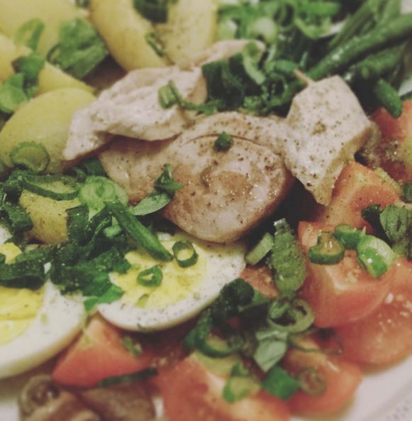 Salat Nizza, Salade Nicoise