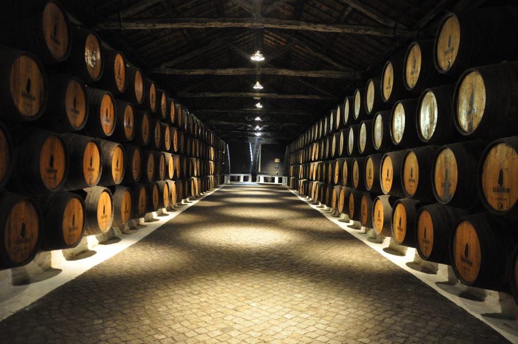 In der Portwein Destillerie Sandman