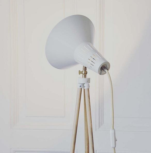 Tripodlampe