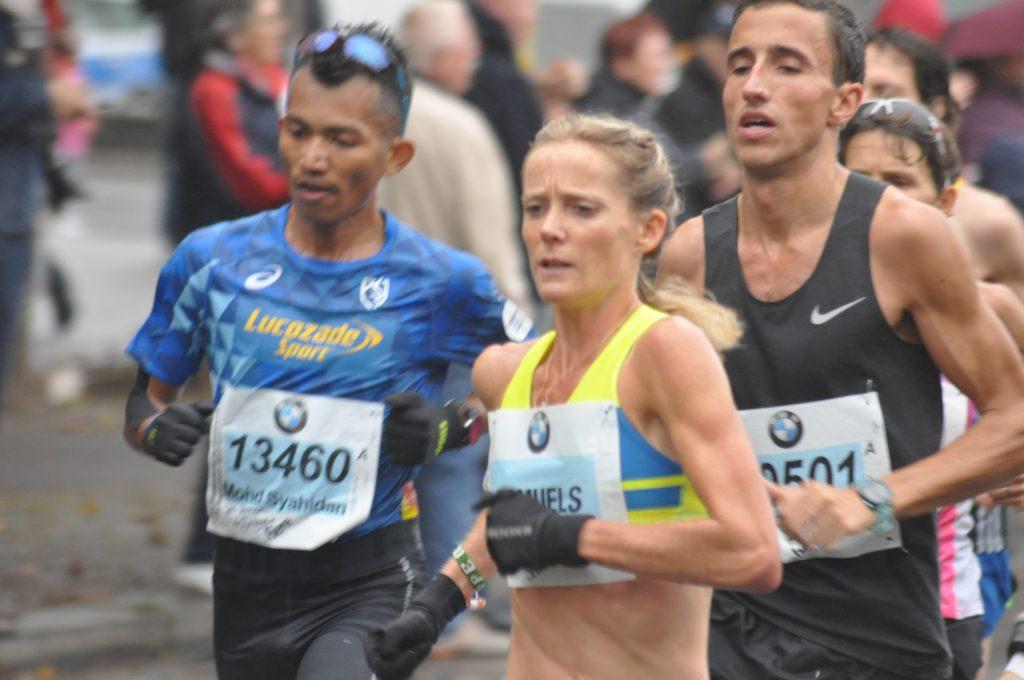 Berlin Marathon Sonia Samuels
