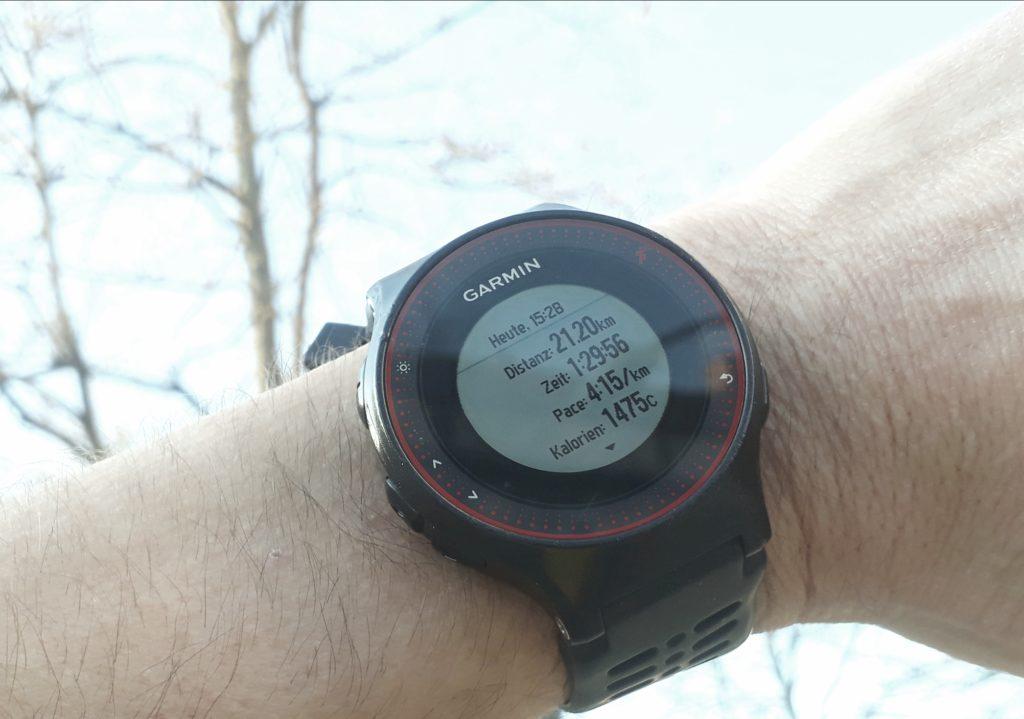 Ma San Blog Halbmarathon unter 1:30