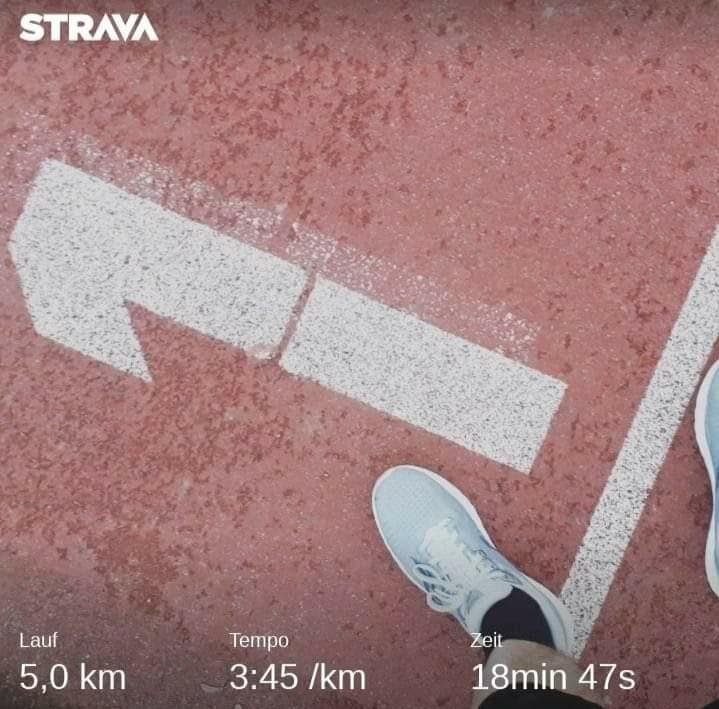 5 Kilometer unter 19 Minuten