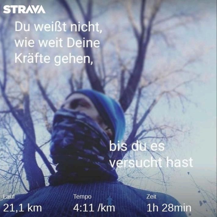 Halbmarathon in 1:28
